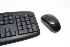 Keyboard with mouse Royalty Free Stock Image