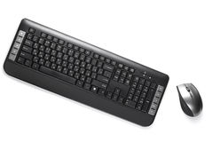 Keyboard and mouse Stock Photography