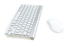Keyboard and Mouse Royalty Free Stock Photos