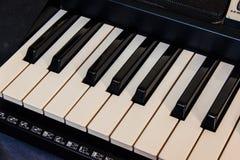 The keyboard music Stock Photos