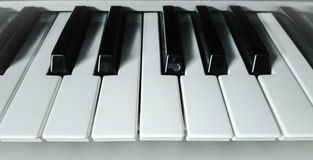 Keyboard. Music keyboard, organ Royalty Free Stock Photo