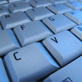 Keyboard Of Laptop Royalty Free Stock Photo