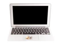Keyboard and Padlock VI Stock Image
