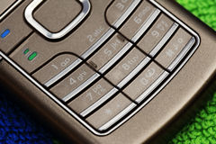 Keyboard of the phone Royalty Free Stock Images