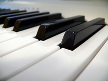 Keyboard of piano Stock Image