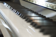 Keyboard piano Royalty Free Stock Images