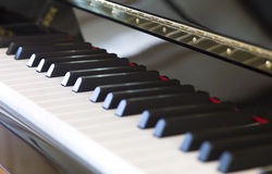 Keyboard piano Stock Images