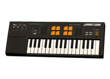 Keyboard piano Stock Photos