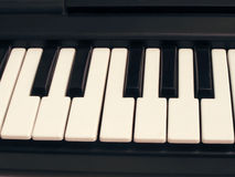 Keyboard piano. Stock Photo