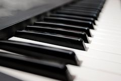 Keyboard Piano Stock Photography