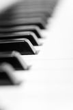 Keyboard of piano. Stock Image