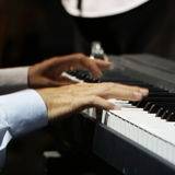 Keyboard of Piano Royalty Free Stock Photography