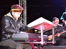 Keyboard player Stock Images