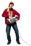 Keyboard player Stock Photography