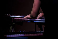 Keyboard player Royalty Free Stock Photos