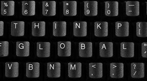 Keyboard Quotes Royalty Free Stock Images