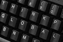Keyboard Quotes Stock Image