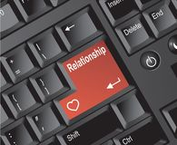 Keyboard  Relationship Royalty Free Stock Photo