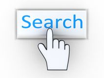 Keyboard search  key Royalty Free Stock Photos