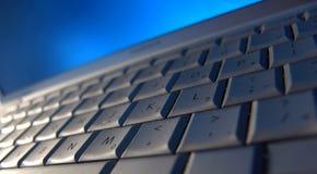 Keyboard Shadows Royalty Free Stock Photos