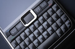 Keyboard from a smartphone Royalty Free Stock Photography