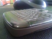 keyboard smartphone Stock Photo