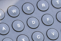 Keyboard. Some Keyboard and circular letters Royalty Free Stock Photo
