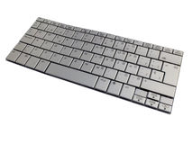 Keyboard with Spanish characters Stock Photography