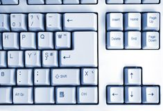 Keyboard style Stock Image