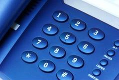 Keyboard telephone Stock Photography
