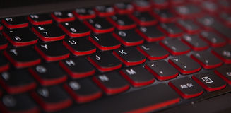 Keyboard texture Stock Photography