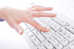 Keyboard Typing Stock Images