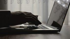 Keyboard typing stock video footage
