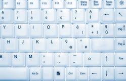 keyboard white 库存图片