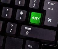 Free Keyboard With Any Key Stock Photos - 17764203