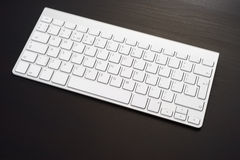 Keyboard in the workplace Royalty Free Stock Images