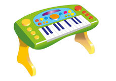 Keyboards. Little keyboards for little musicians Stock Photo