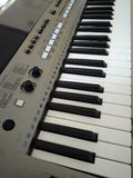 Keyboards Music Instrument. Digital entertainment equipment Royalty Free Stock Photos