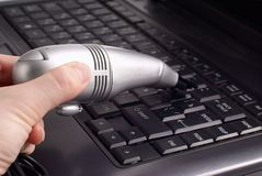 Keyboards vacuum cleaner Royalty Free Stock Photos