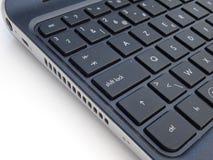 Keybord del ordenador portátil Fotos de archivo libres de regalías