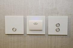 Keycard в гостинице Стоковые Изображения RF
