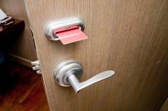 keycard двери Стоковые Изображения