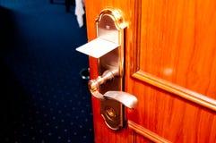 Keycard Tür Stockfotos