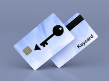 Keycards Stockbild