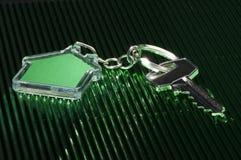 Keychain και κλειδί Στοκ Εικόνες