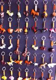 Keychain στην αγορά Στοκ Εικόνες