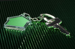 Keychain и ключ Стоковое Фото