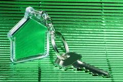 Keychain и ключ Стоковое фото RF