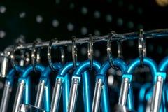 Keychain кольца нержавеющей стали Стоковое Изображение
