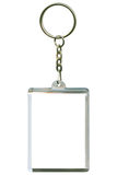 Keychain. As a frame with space for text or illustrations Stock Image